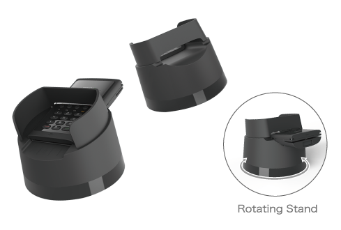 Rotating Stand model (option)